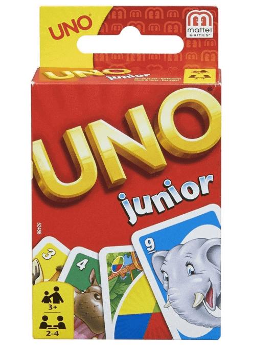 juego para niños de cartas Uno